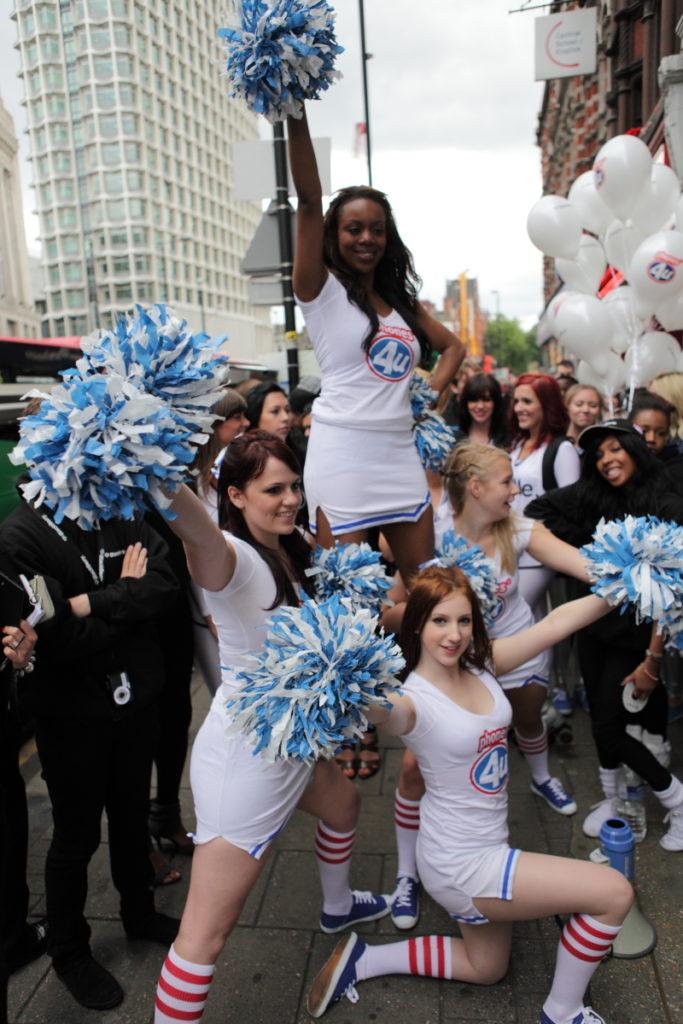 Street Marketing Girls London